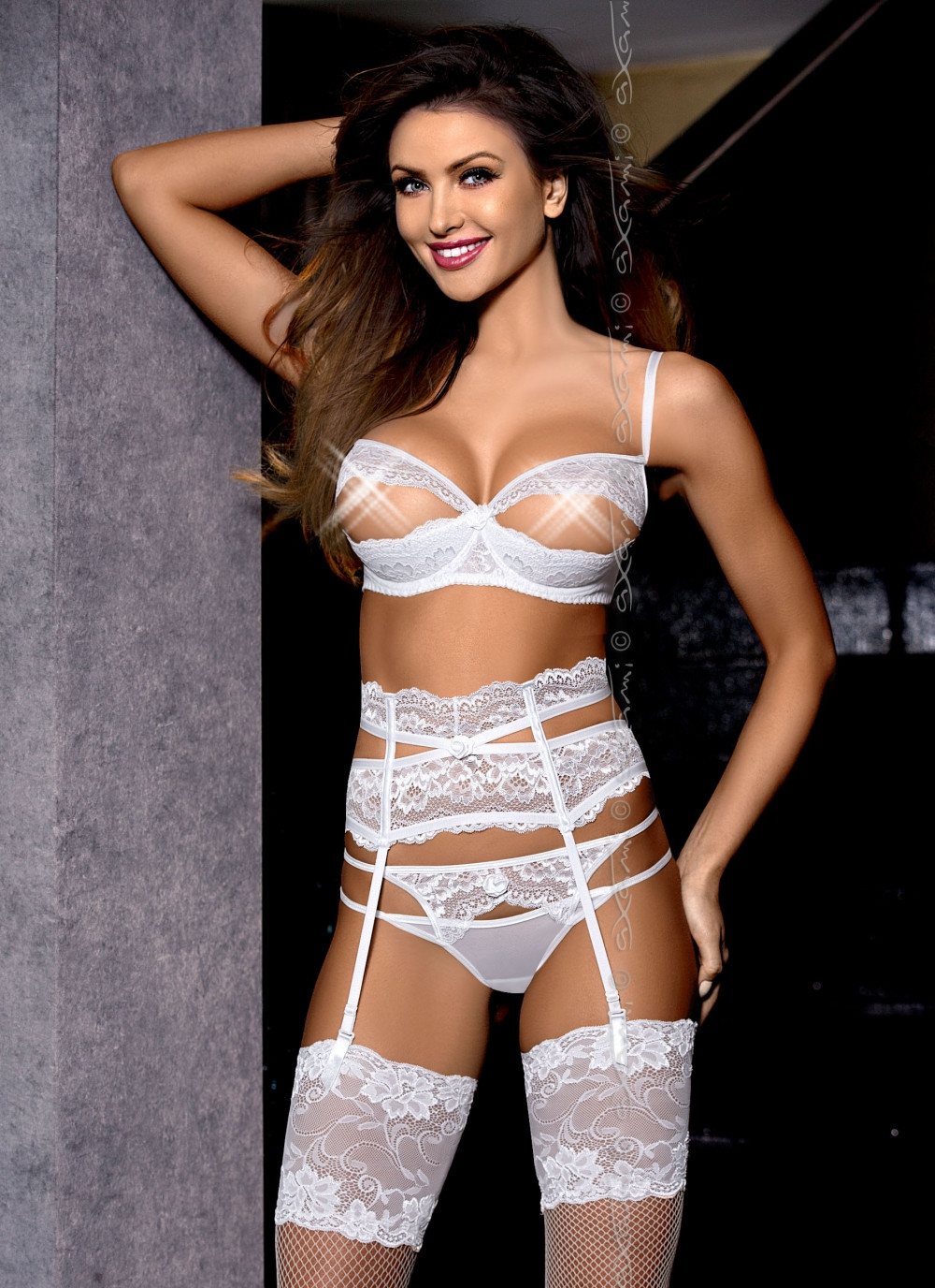 Soutien-gorge blanc Angelic Scent of a Woman - Axami  4a3077c213e