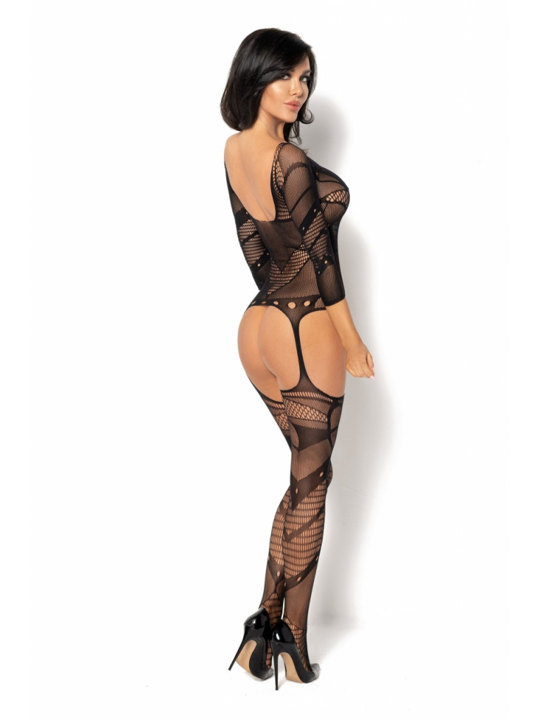 Bodystocking noir Esmeralda