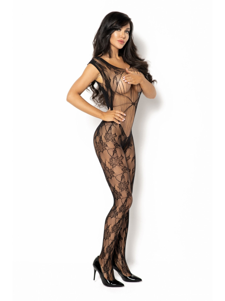 Bodystocking noir Kiara