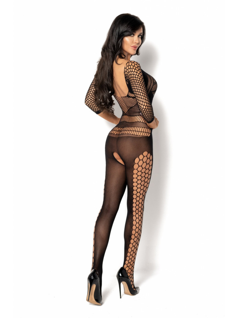 Bodystocking noir Lucelia